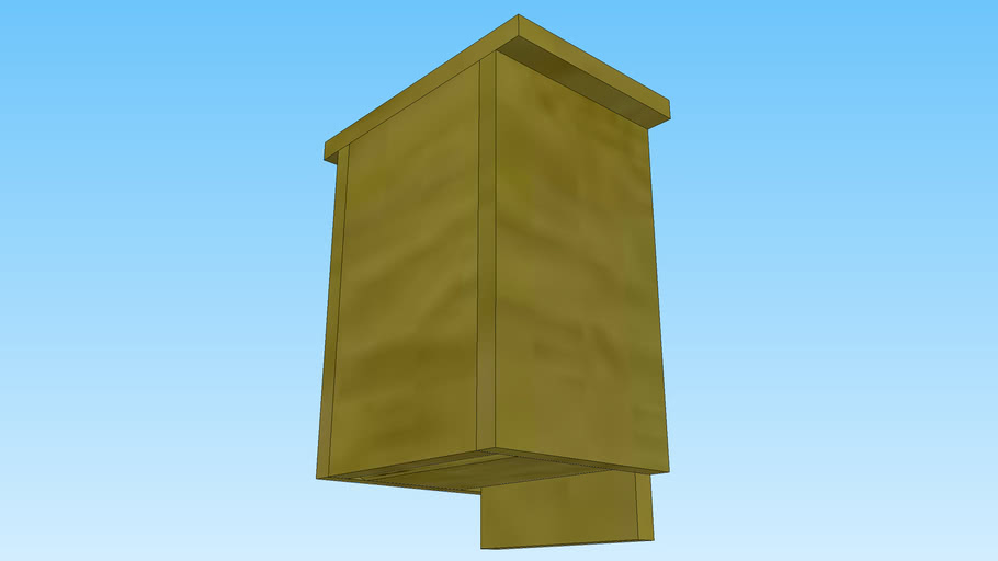 Small bat house
