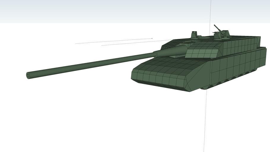 H-97B main battle tank 152mm