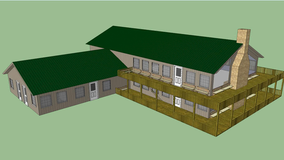 l shaped food services building 3d warehouse l shaped food services building 3d