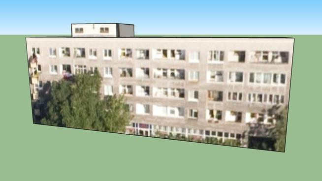 Bâtiment situé Mokotów, Varsovie, Pologne