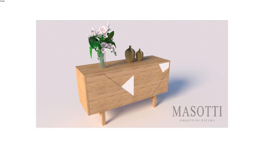 Buffet Coleção Masotti Ref 267.0 135cm F15