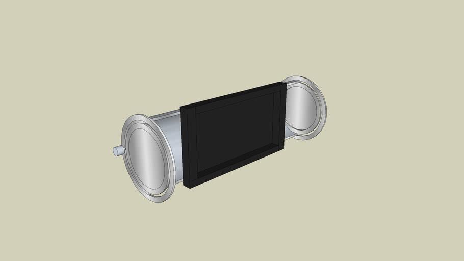 frame voor ipod touch of iphone  voor in je etui