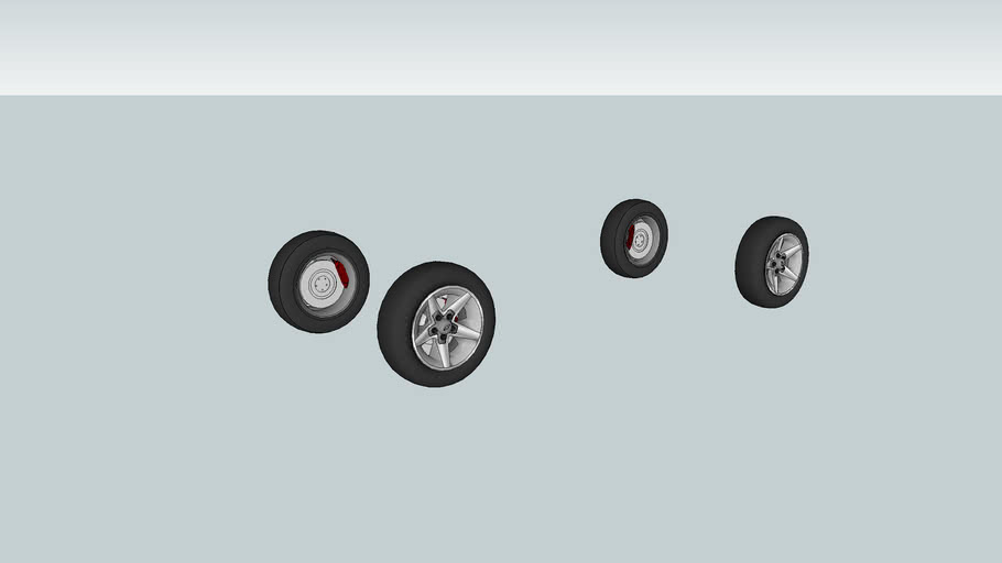 chevy zq8 wheels set of 4 3d warehouse 3d warehouse sketchup
