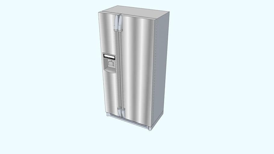 American two-door refrigerator