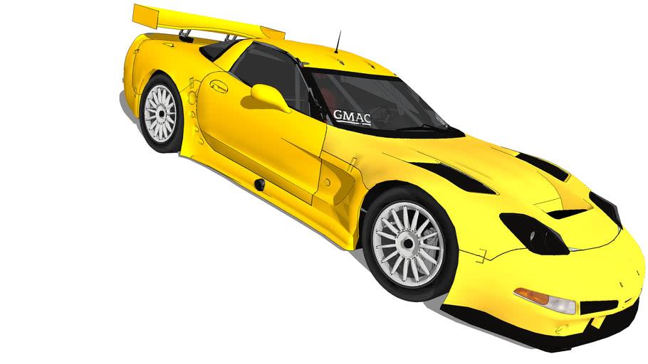 2004 Chevrolet Corvette C5.R (Unmarked)