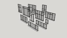 Steel frame doors and windows