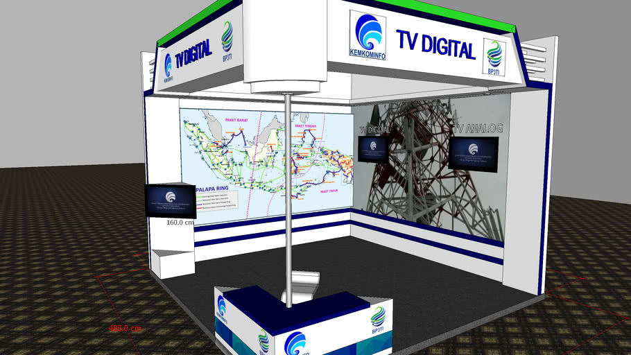 Booth 488 x 488