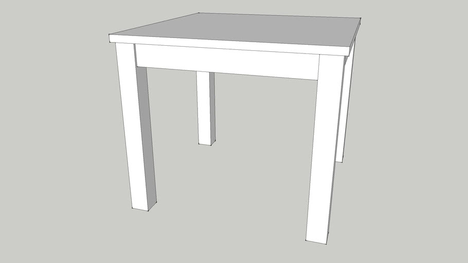 Cheap As Chips Coffee Table 60 x 60cm
