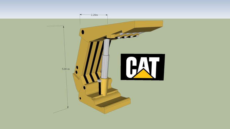 CAT Underground Roof Support for a Longwall Mining Operation