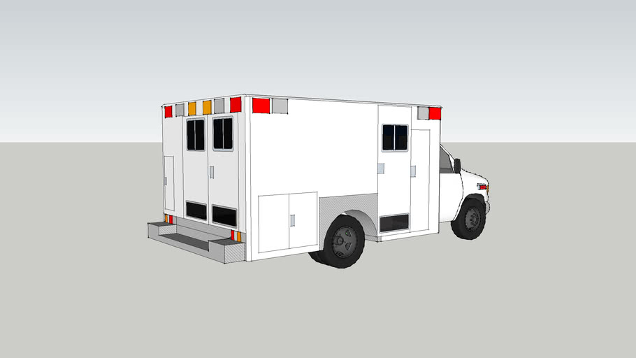 ambulance type lll  ford f450  econoline model 2005