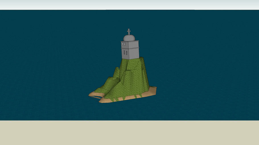 torre de iglesia en la isla santo Domingo del Espiritu Santo