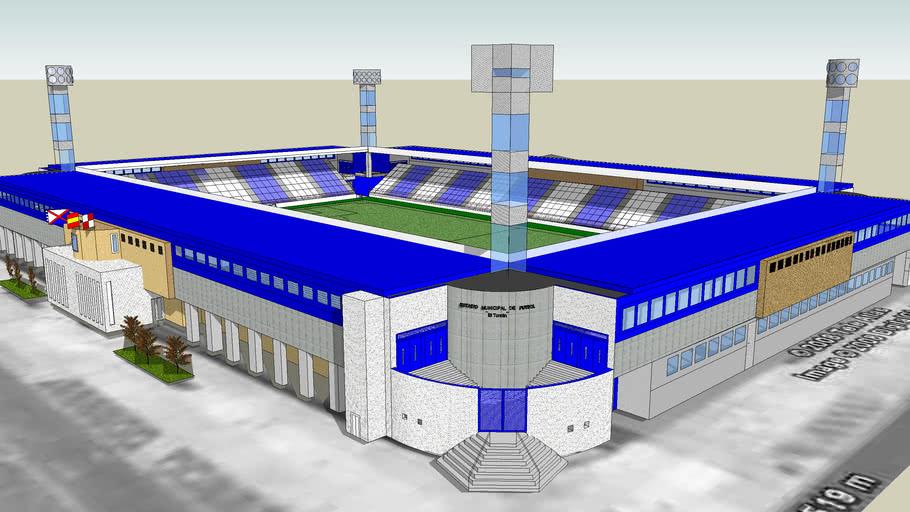 Estadio de futbol El Toralin (SD Ponferradina)