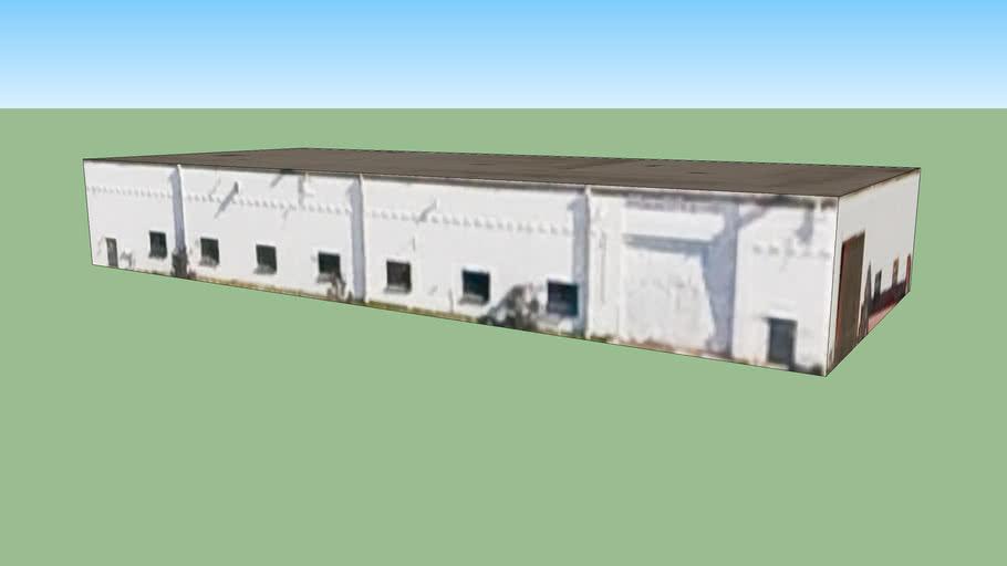 Byggnad på Minneapolis, MN, USA