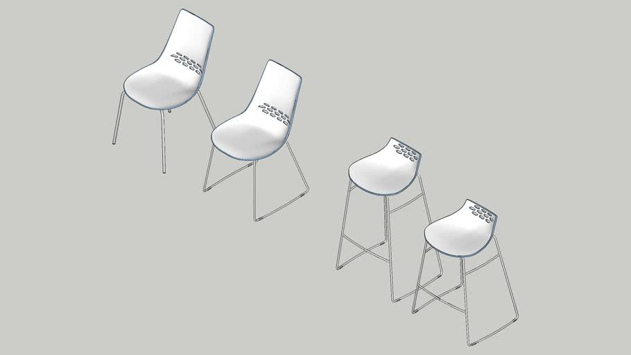 Alsen Chrome Seating