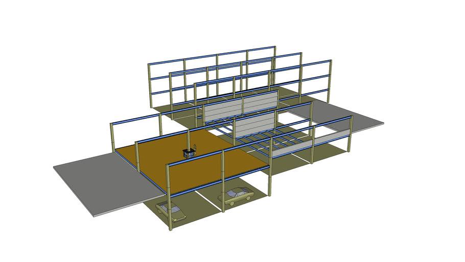 Residential split purpose units