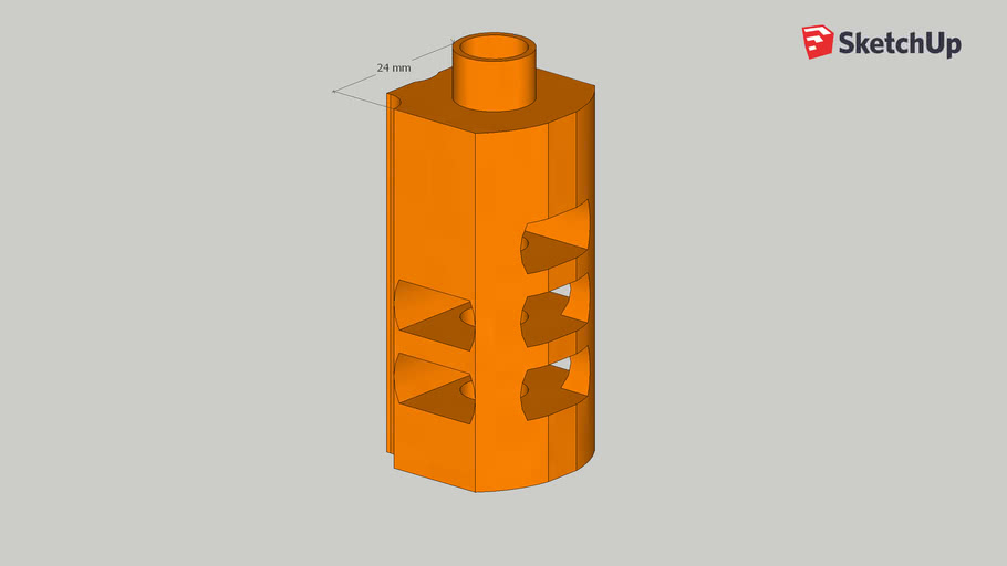 WE Hi-Capa Plug and Play Standard Design Compensator