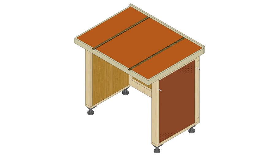 Miter Saw Bench Module