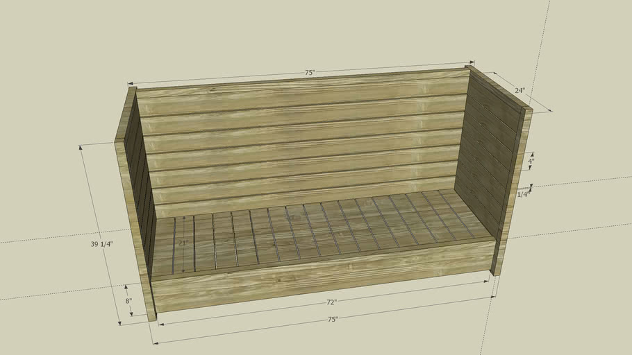 Bench 1 in Progress