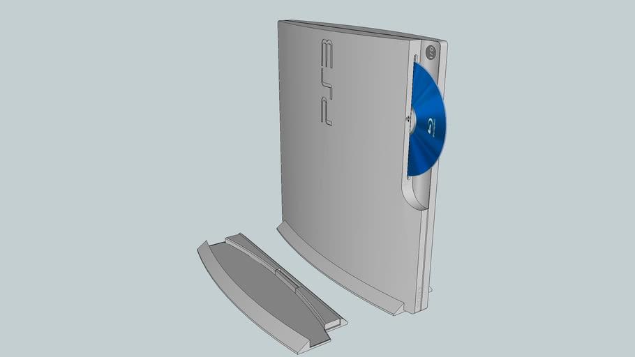 PlayStation 3 CECH-2500A/B SS 縦置き