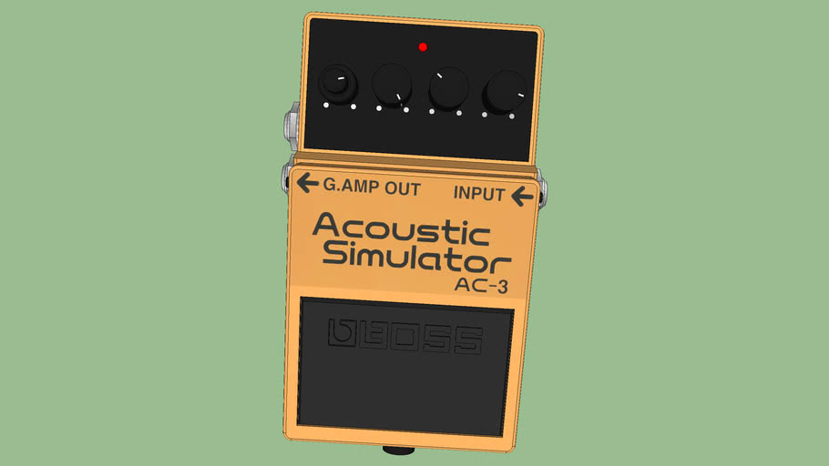 Boss Pedal Arcoustic