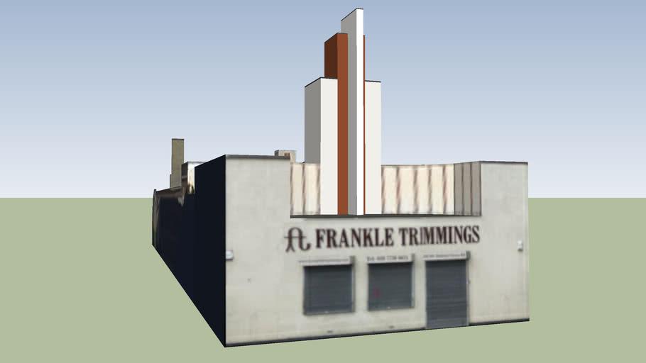 Frankle Trimmings, Bethnal Green, London, UK