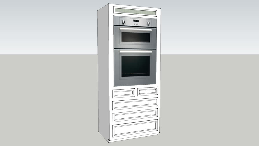 """Double oven and cabinet - 36""""wide"""