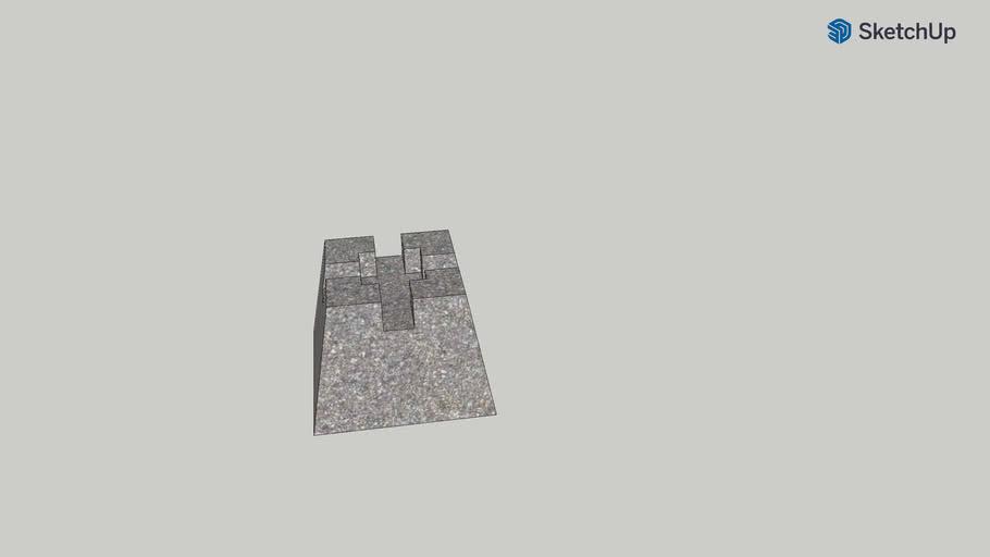 Concrete Deck Block 7 3/4x10 3/4x10 3/4