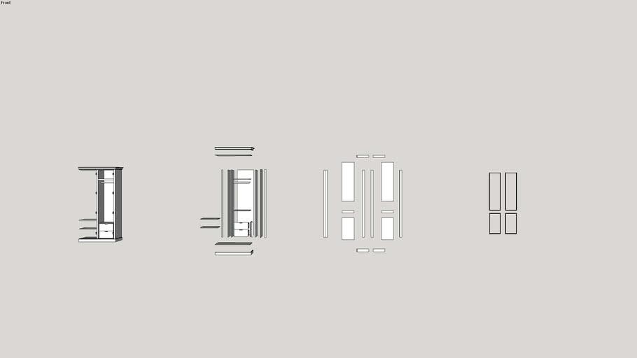 wardrobe schematic