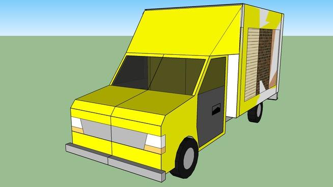 camion de ventes