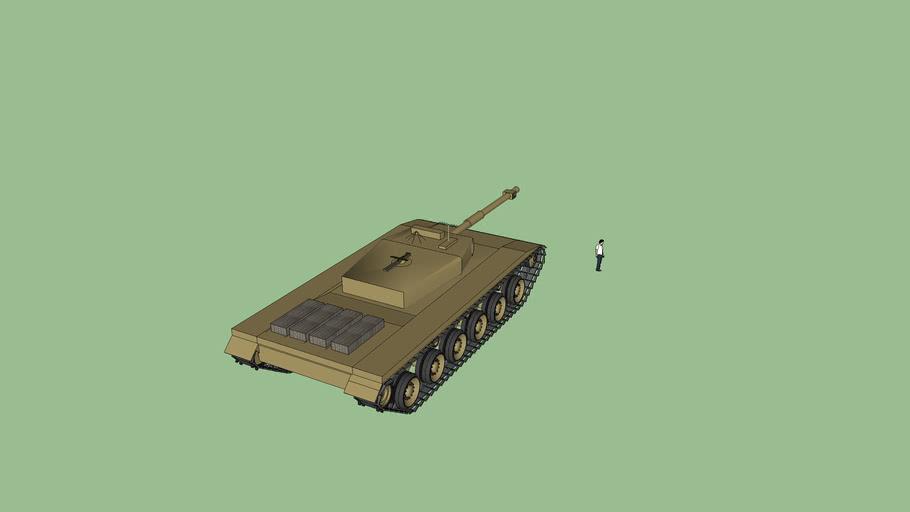 "Long Range airborne Cruiser tank w/ short range UAV system Last version, not done, dont ""finish"" it"