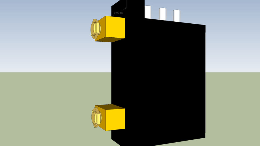Simple latching relay