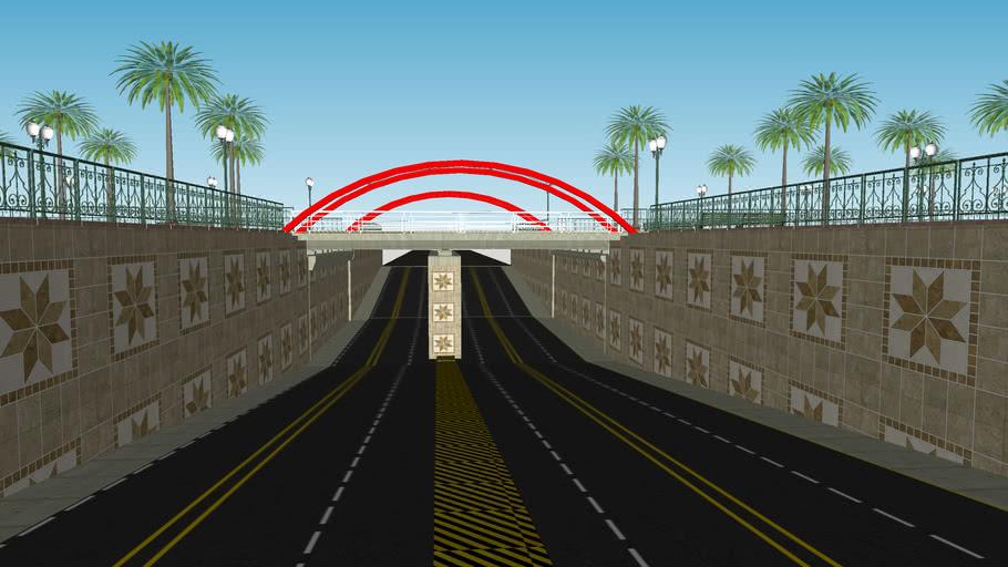 Conceptual Design of Hazratganj Underpass Lucknow