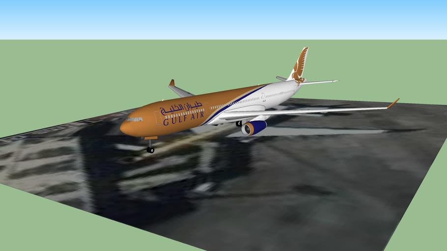 Gulf Air at NAIA