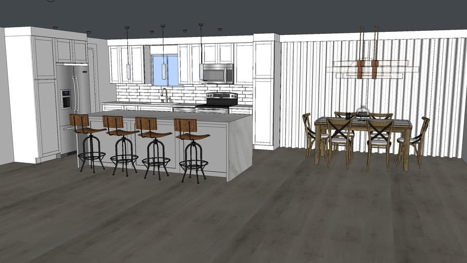 Kitchen, Cabinet