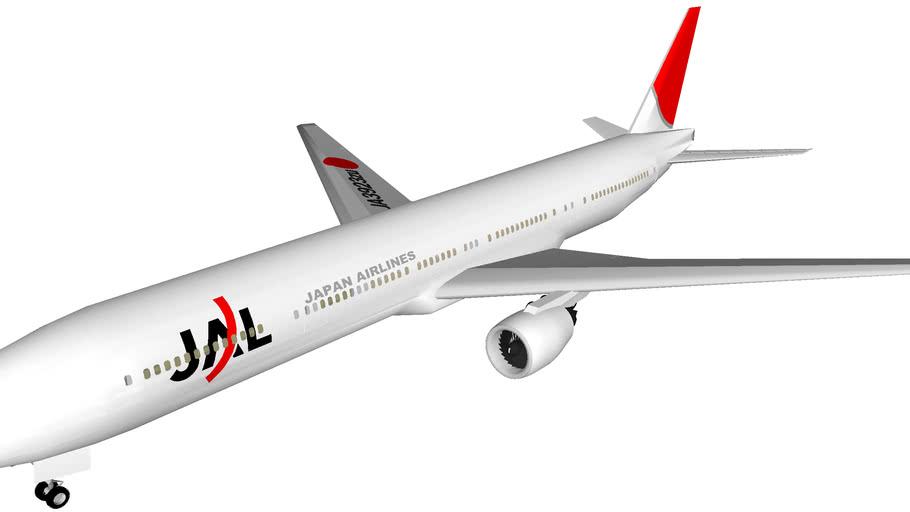 Japan Airlines Boeing 777-300