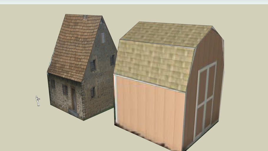 Textured Buildings
