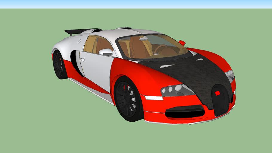 Pimped out Bugatti Veyron