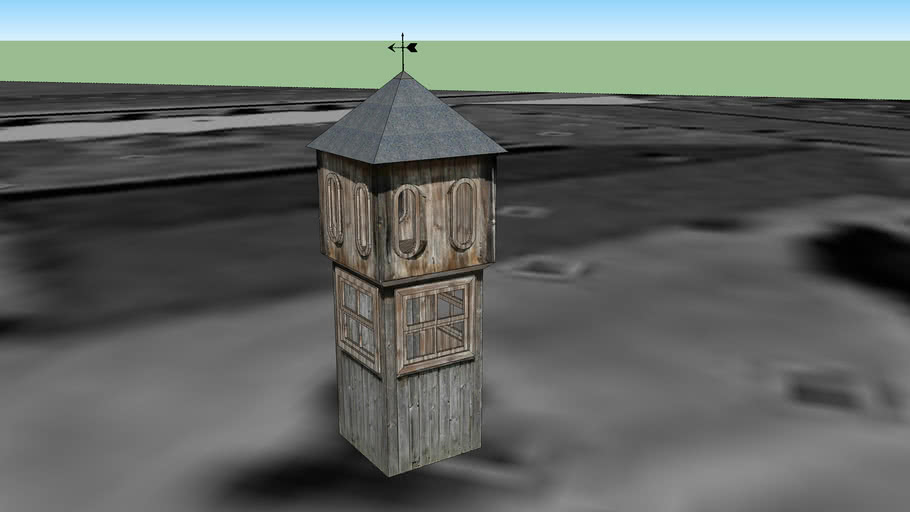 Sentry Box at Auschwitz I Concentration Camp