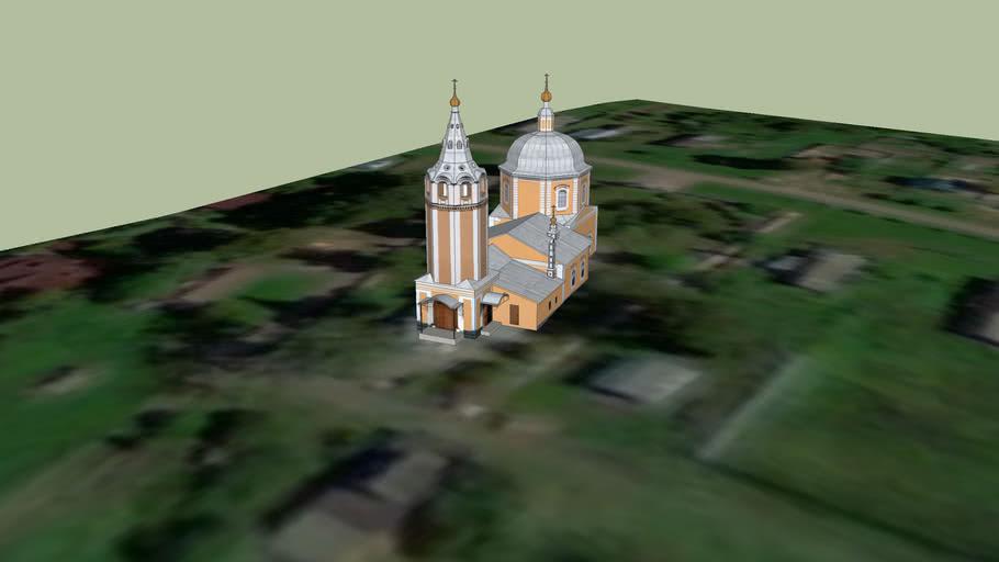 Храм в селе Ермолино