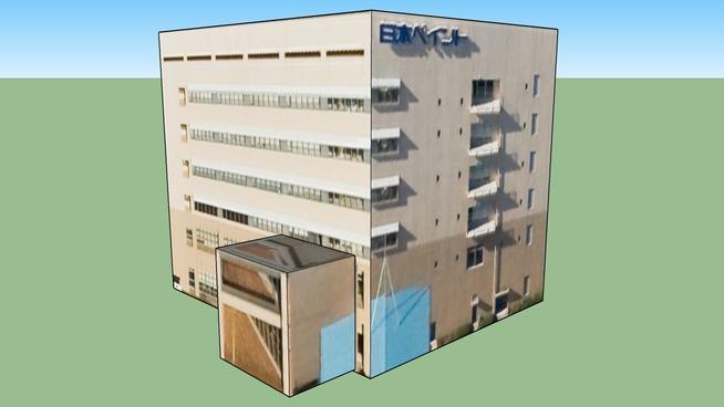 Building in 4丁目1南品川, Shinagawa Ward, Tōkyō Metropolis, Japan