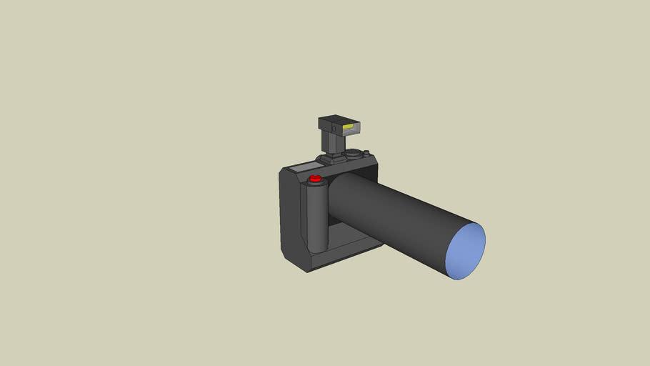 Nikon D3 Camera model (not exact)