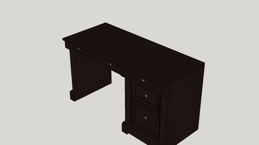Hennepin 4 Drawer Computer Desk