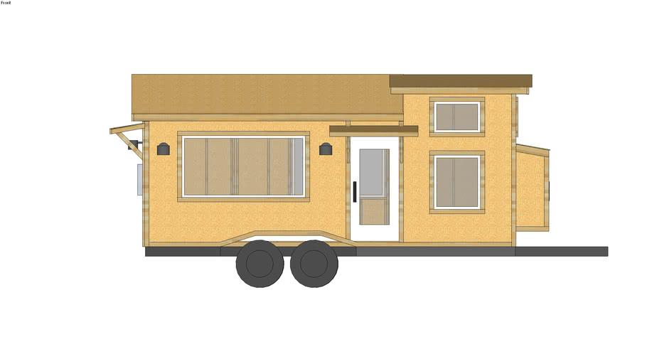 Quartz Tiny House Plan Model