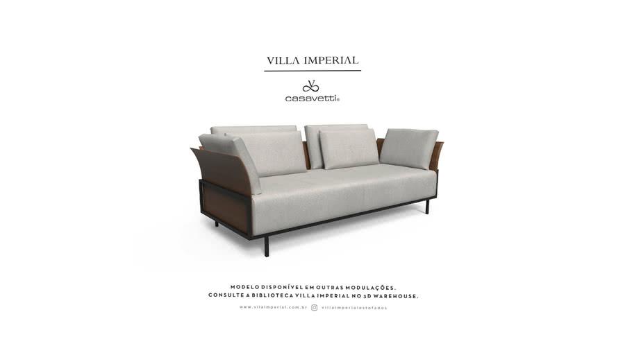 Sofá Benhê - 2 Asentos   Villa Imperial - Casa Vetti