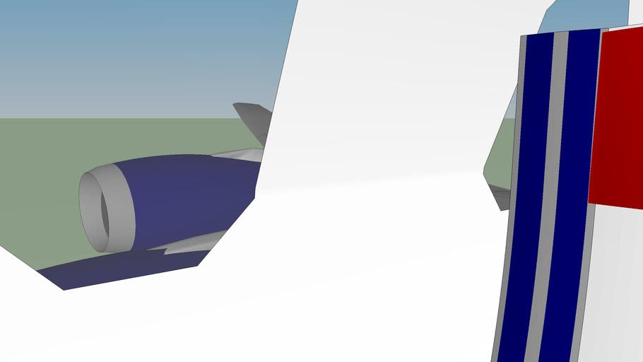 LibertyJet World Dynamics R-5A w/interior (fictional)
