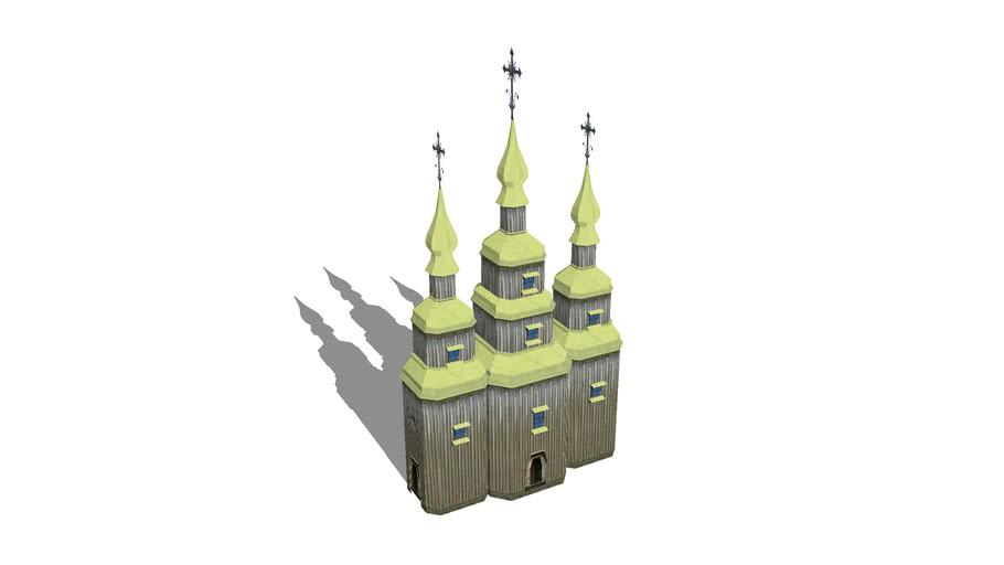 Wooden Church in Pirogovo
