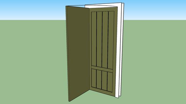 30 x 80 Wood Door & Frame