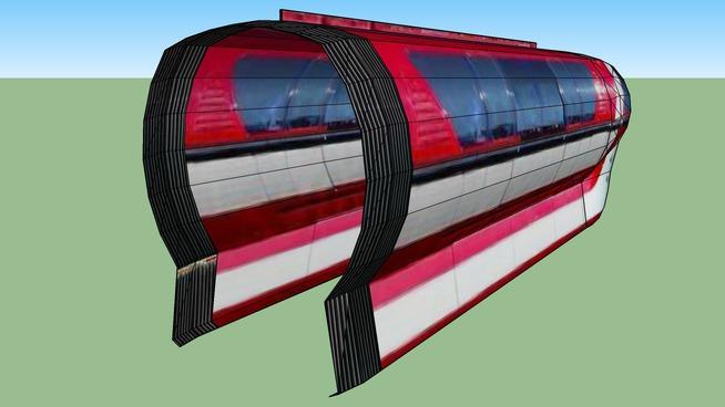 Disneyland Monorail Animated Short