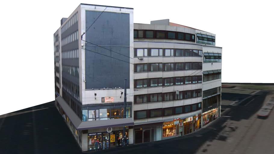 Gewerbehaus Hutfilterstr. - Ecke Bürgermeister-Smidt-Str.