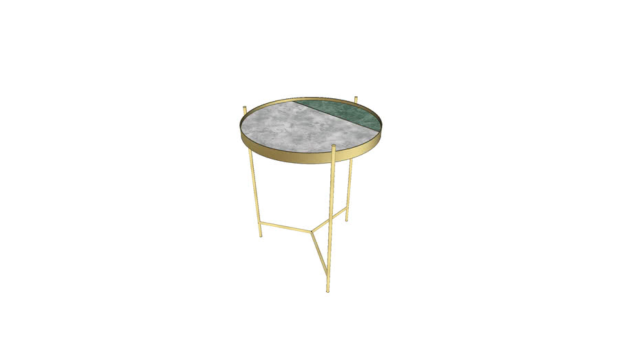 Swoon - Aravali coffee table brass marble